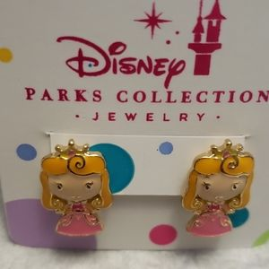 WDW Disney Sleeping Beauty Princess Earrings NWT